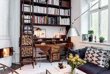 Ideakollaasi, Valhallankatu / Kylpyhuoneen laajennus ja asunnon sisusutussuunnitelma. Suunniteltavat huoneet: olohuone, ruokailutila, makuuhuone, työtila ja eteinen.