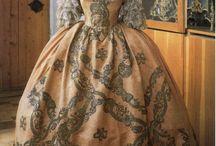 1700's dress / by Vicky Bayley