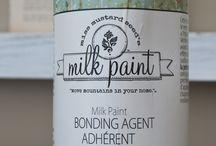 Pintura a la leche