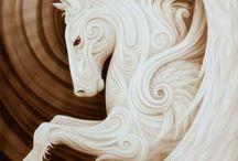 malen in weiß