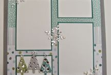 Scrapbook pages / Just for cards? I think not! Scrapbook page ideas using Stampin' Up! products!