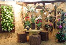 Fibra de Coco - Fiaflora 2003 / #FibradeCoco #CocoVerde #CocoVerdeReciclado #Paisagismo #Jardinagem #JardimVertical #Decoração #ProjetoCocoVerde #Reciclagem #Sustentabilidade