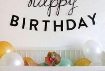 Bdays... ideas to celebrate!!!