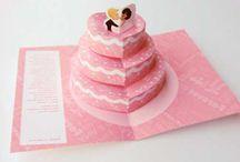 Convites de Casamento / Sugestões, ideias, tutoriais passo a passo e tudo mais sobre os convites de casamento mais lindos para seus convidados!