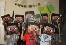 Party it up!  - MineCraft Birthday