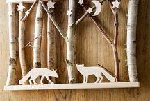 création à bois
