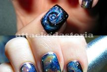 Space Nail Art / by Rose Stumbaugh