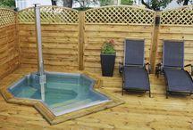 trädgård pool