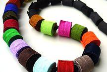 Biżuteria tekstylia