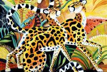 Jaguars Leopards & Cheetas