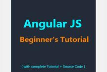 Angular JS Beginner's Tutorial / Learn Angular JS with our eBook in no time. http://learnsauce.com/angularjstutorial/