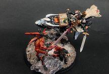 Ravenwing Sammael on dioramatic base / https://www.flickr.com/photos/142435544@N06/albums/72157673554231932