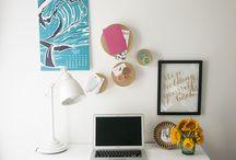 Office decor / by Lauren Geniviva