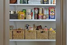Kitchen and Pantry Storage / Ideas for getting organized
