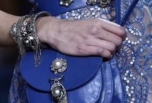Across Transitions | Haute Couture Spring Summer 2016 details / A royal blue vibe uplifting muted tones. / by ELIE SAAB