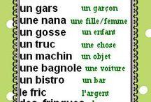Mots en Francais