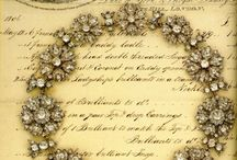Regency Jewelry / Male and female jewelry of the Georgian and Regency periods. Includes buttons.