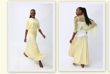 Summer Sunshine Collection  / Pastel yellows, batwing, drapes & off shoulders