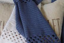 Hæklet gæstehåndklæder
