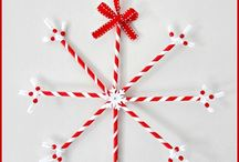 Christmas Kiddie Crafts / Oh what fun it is to create and craft with the kiddies.