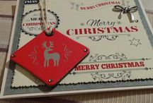 Christmas 2014 / Handmade cards, scrap, tarjetas, felicitaciones by OriginalesK