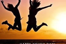 Happy International Youth Day ! Stay Young Forever In-Out  #internationalyouthday #foreveryoung