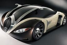 futurischtische voertuigen land