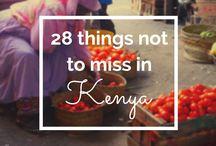 Kenya and Tanzania / Kenya and Tanzania travel board.