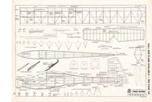 Plánky na stavbu modelů letadel