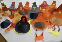 Pâques poules et cie / Maternelle