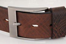 Cinturones clásicos hombre / Cinturones en piel natural con diseño clásico