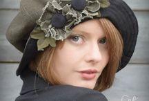 Шляпка  шарфик