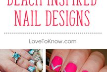 Nail Art Ideas and Nail Care / Your nails are part of you, and they deserve to be treated with care, too. Nail care is important for everyone -- whether you like a simple look with natural nails, or you like to experiment with the hottest shades of nail polish and new ideas for nail designs.