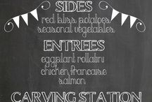 Chalkboards & Signs