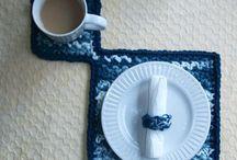CROCHET IDEAS & PATTERNS / Some of the fun & some easy Crochet Ideas...... / by Jjean