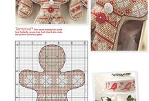 CROSS STITCH ORNAMENTS / by suzanne st-onge
