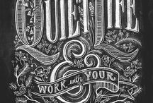 Inspiration - Typography & Lettering / by Nohan Ribeiro