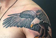 tetování orel