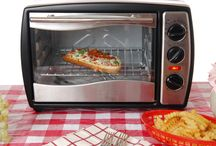 Toaster oven cooking