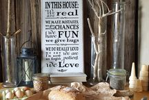 Etsy wooden linen sign with quotes