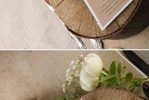 Carte da menu di nozze