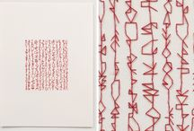 Embroidery / sashiko