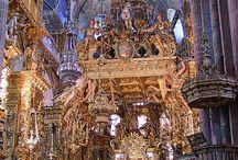 Interiores de Catedrales  Catedrales y Templos