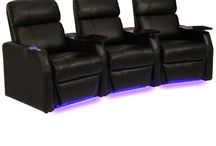 Leather 7000 Seating / This board collects all home theater seats fashioned from premium Leather 7000 material.  #hometheater #hometheaterseats