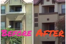 Painting - Before and After / See what awesome transformations a professional paint job can do to your home.