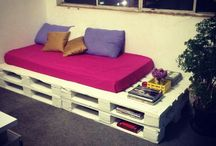 DIY Pallet Ideas / Creative ideas with pallets