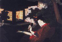 日本画、浮世絵