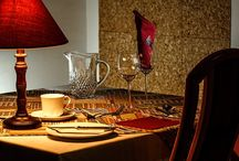 """Wouldn't it be divine to book a table for a romantic dinner with your companion? / You can book an entire restaurant in Rieti. """"Solo per Due"""" is the smallest restaurant in the world. It's in an elegant villa with park, and it can accommodate a maximum of two people."""