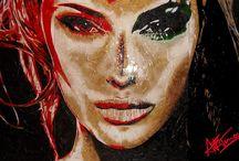 LUXURY ART / ARTWORK that is unique and rare design.