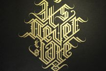 calligraphy (other styles)